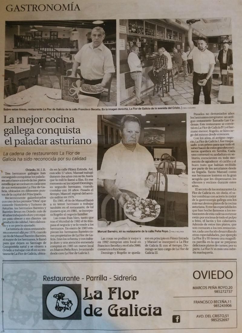 Mejor cocina gallega