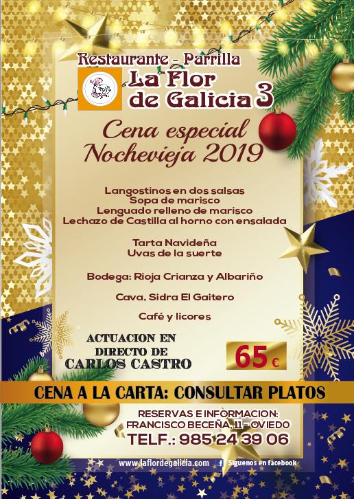 Nochevieja 2019 en la Flor de Galicia 3